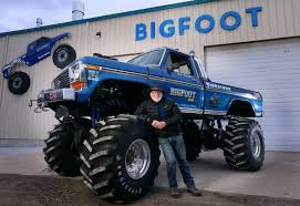 Bigfoot Migrates West, Leaving Hazelwood Without Landmark | Metro ... Tmb Tv Mt Unlimited Moment Retro Bigfoot Monster Truck Qualifying Lego Technic Bigfoot 1 Rc Moc With Itructions Meet The Man Behind First Wsj Poster Ii Car Posters Monster Truck Defects From Ford To Chevrolet After 35 Years Atlanta Motorama Reunite 12 Generations Of Mons Tra360841 110 Scale Officially Licensed Replacementica 1047 Kiss Fm Working Lot Sled Part Original Box Classic Rtr Blue Hobbyquarters Traxxas 2wd Tq Eurorccom