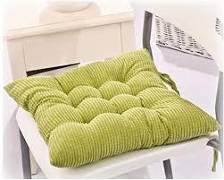 geling stuhlkissen sitzkissen mit bänder sitzauflagen esszimmer wohnzimmer büro kissen für stuhl grün 40x40cm