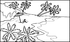 Coloring Page Landscape At Pages