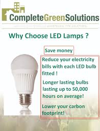 can your business save money through changing to led lighting