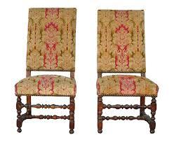 chaises louis xiii marseilleantiquites paire de chaises louis xiii d époque xviiième