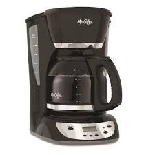 Mr Coffee Black 12 Cup Programmable Maker