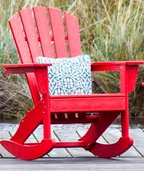 Red Adirondack Chairs Polywood by Polywood Rocking Chairs Polywood Adirondack Rockers