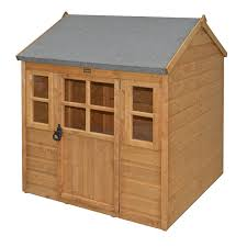 Cheap Shed Cladding Ideas by Amazon Com Bosmere Phlodge Rowlinson Little Lodge Kids Wooden