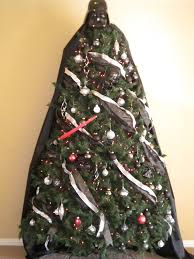 Christmas Tree Toppers Pinterest by Darth Vader Christmas Tree Red Lights And Working Light Saber