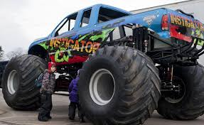 100 Monster Truck Horsepower Roaring Into Town Truck Visits Winona Will Be Featured In