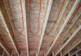 Pex Radiant Floor Heating by Water Heated Wood Floors Homeimprovement