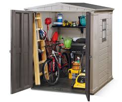 Keter Manor Plastic Shed 4 X 6 by Factor 6x6 Keter