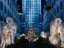 Rockefeller Plaza Christmas Tree 2014 by Rockefeller Center At Christmas New York Wallpapers And Stock