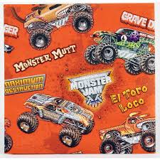 Monster Jam 3D Beverage Napkins - 20 Count - Monster Jam Party ... Monster Jam Birthday Party Supplies Impresionante 40 New 3d Beverage Napkins 20 Count Mr Vs 3rd Truck Part Ii The Fun And Cake Blaze Invitations Inspirational Homemade Luxury Birthdayexpress Dinner Plate 24 Encantador Kenny S Decorations Fully Assembled Mini Stickers Theme Ideas Trucks Car Balloons Bouquet 5pcs Kids 9 Oz Paper Cups 8 Top Popular 72076