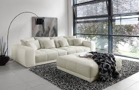 moldau big sofa in beige weiß jockenhöfer möbel letz