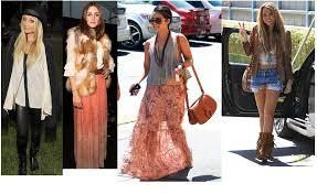 My Favorite Boho Girls Are Miley Cyrus Zoe Kravitz And Vanessa Hudgens