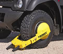 Wheel Locks | Tire Locks | Wheel Chocks By Trimax Goodyear Wheel Chocks Twosided Rubber Discount Ramps Adjustable Motorcycle Chock 17 21 Tires Bike Stand Resin Car And Truck By Blackgray Secure Motorcycle Superior Heavy Duty Black Safety Chocktrailer Checkers Aviation With 18 In Rope For Small Camco Manufacturing Truck Bed Wheel Chock Mount Pair Buy Online Today Titan Wheels Gallery Pinterest Laminated 8 X 712