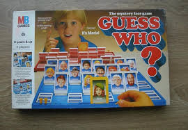 Original Vintage Board Game Guess Who 100 Complete Toy