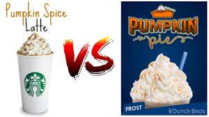 Starbucks Pumpkin Latte 2017 by Dutch Bros Pumpkin Pie Frost Better Than Starbucks Pumpkin