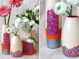 Diy Flower Vase Mesmerizing Craftionary
