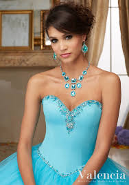 blue blush corset quinceanera dresses simple beaded sweetheart