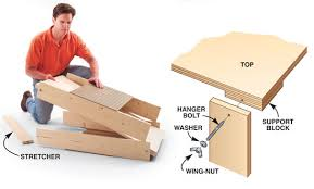 portable work table plans free download pdf woodworking folding