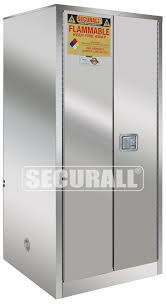 Flammable Safety Cabinet 30 Gallon by Securall Stainless Steel Storage Cabinets For Flammables And