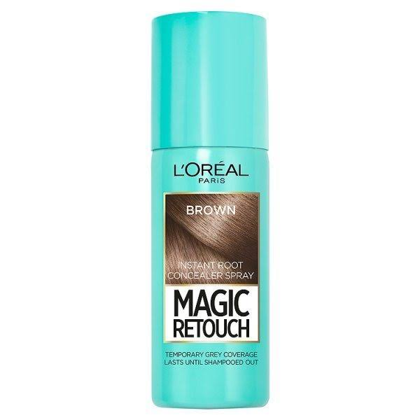 L'Oreal Paris Magic Retouch Instant Root Touch Up - Dark Iced Brown, 75ml
