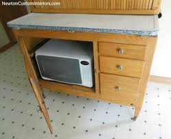 What Is A Hoosier Cabinet Worth by Hoosier Cabinet Makeover Newton Custom Interiors