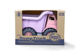Amazon.com: Green Toys Dump Truck In Pink Color - BPA Free ...