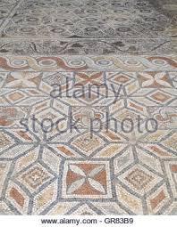 Turkey Ephesus Roman Period Terrace Houses Mosaics On The Floor