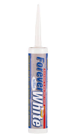 Everbuild Forever White Bathroom Silicone Sealant