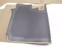 genuine oem nissan armada 4 piece floor mat set beige color code