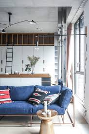 This Studio Apartment In Hong Kong Is Big On Style | NONAGON.style Cool Apartment Design Ideas Archives Digs Perfect Tropical Themed Bathroom 49 About Remodel Home Design Apartment Elevation Architectural Pinterest 25 Best Ideas Interior On Loft Decorating Living Room Tiny Modern Clever Space Saving Tricks Micro 5 Small Studio Apartments With Beautiful Open Plan Interiors Wood Ladder Full Kitchen Elegant One Bedroom Attic Exposed
