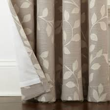 Jc Penney Curtains Martha Stewart by Jcpenney Home Quinn Leaf Grommet Top Curtain Panel Jcpenney