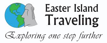 Easter Island Traveling Logo With Company Name And Slogan