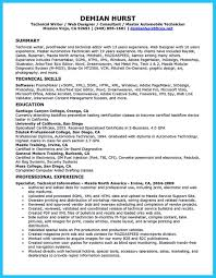 Auto Mechanic Resume Objective