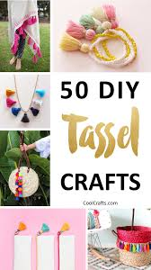 50 Playful DIY Tassel Crafts To Decorate Your Home