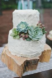 View And Save Ideas About Rustic Wedding White Succulent Cake