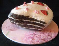 Cake Rock Art love the rock food
