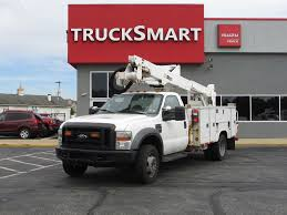 2008 FORD F550 BUCKET BOOM TRUCK FOR SALE #11130