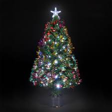 Best Choice Products Pre Lit Fiber Optic 7 Green Artificial Christmas Tree
