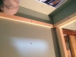 création d une trappe de visite et faux plafond technique