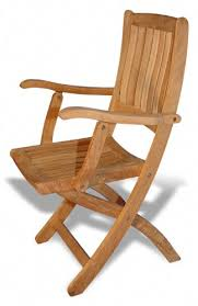 Folding Patio Chairs Amazon by Amazon Com Teak Folding Chair With Arms Pair Folding Patio