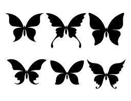 152 best Butterflies Silhouettes Graphics images on Pinterest
