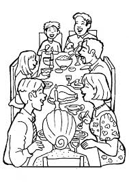 Good Family Coloring Page 49 With Additional Picture