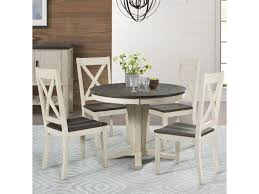 AAmerica Huron 5 Piece Pedestal Table And X Back Chair Set ... Madison County Ding Table Set With Extension Tamilo Ding Room Chair Ashley Fniture Homestore Pin On Ding Tables And Chairs Most Regard Set Cushions Chairs Comfortable Wat Indoor Covers Black Modern Mhattan Comfort York 5piece Solid Wood With 1 Table 4 540 Area Tile Wooden Patings Decorative Giantex 5 Piece Upholstered Mid Century Apartment Linen Fabric Cushioned Seats Large Amazing Brie Hooker Hill Country