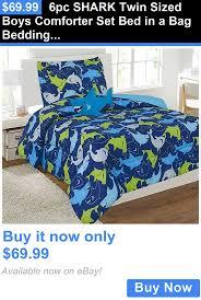 Zipit Beddingcom by Danger Shark Quilt Cover Set Kids Bedding Dreams Msexta