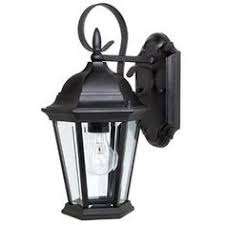 hinkley 1804bk freeport 1 light 12 inch black outdoor wall mount