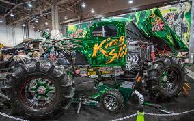 100 Monster Trucks Show 2014 Weirdest Cars Of The SEMA 1518