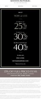 Banana Republic Coupons - 25-40% Off At Banana Republic, Or ... Athleta Promo Codes November 2019 Findercom 50 Off Bana Republic And 40 Br Factory With Email Code Sport Chek Coupon April Current Thrive Market Expired Egifter 110 In Home Depot Egiftcards For 100 Republic Outlet Canada Pregnancy Test 60 Sale Items Minimal Exclusions At Canada To Save More Gap Uae Promo Code Up Off Coupon Codes Discount Va Marine Science Museum Coupons Blooming Bulb Catch Of The Day Free Shipping 2018 How 30 Off Coupons Money Saver 70