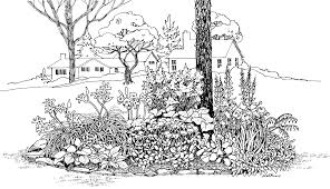 hd name garden clipart black and white file free