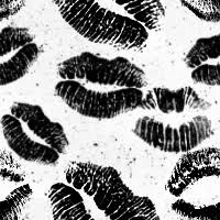 Black And White Vintage Background Tumblr Lips Tu