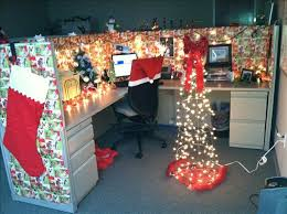 Cubicle Holiday Decorating Themes by Office Christmas Cube Decorating Ideas Decorate My Cubicle Holiday U